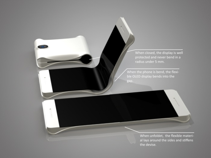 Samsung Foldable Phone Concept