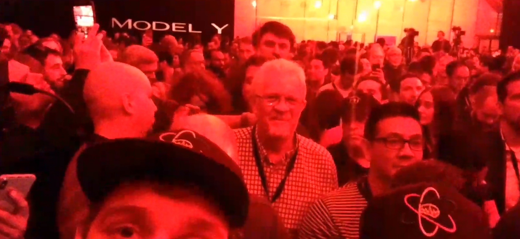 Model Y Unveiling - Crowd
